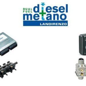 Landirenzo Diesel Dual Fuel: Σύστημα Κίνησης με Φυσικό Αέριο για κινητήρες DIESEL
