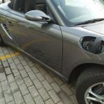 Υγραεριοκίνηση σε Porsche Boxter - Σημείο πλήρωσης καυσίμου