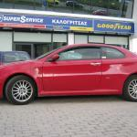 Τοποθέτηση συστήματος υγραεριοκίνησης σε Alfa Romeo GT